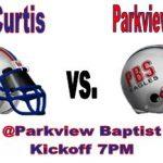 LIVE STREAM vs. Parkview Baptist