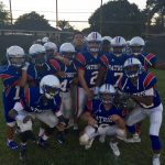 John Curtis Christian 8th Grade Football beat Saint Paul School – Boys 38-14