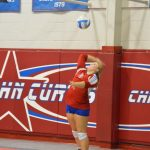 John Curtis Christian High School Girls Varsity Volleyball beat Saint Thomas Aquinas High School 3-0