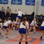 John Curtis Christian High School Girls Varsity Volleyball beat Belle Chasse High School 3-2
