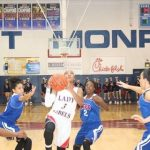 John Curtis Christian High School Girls Varsity Basketball beat West Monroe High School 45-41