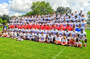 Picture Day and Football team at Zephyr Field