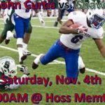 LIVE STREAM vs. Shaw Saturday at 10:45AM!