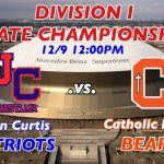 STATE CHAMPIONSHIP LIVE STREAM vs. Catholic starting at 11:45AM!