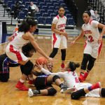 Girls basketball team routs Evangel; on to the state championship Saturday!