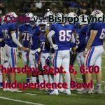 LIVE STREAM vs. Bishop Lynch, TX Thursday at 6:00!