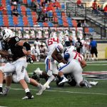 Patriot defense suffocates the Friars from Texas