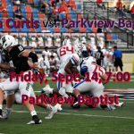 LIVE STREAM vs. Parkview Baptist Friday at 6:45!