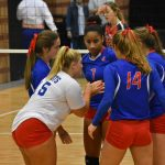 Patriot volleyball team's season comes to an end in quarter-finals
