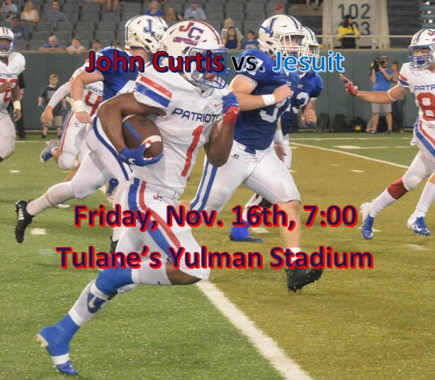 LIVE STREAM Quarter-Finals vs. Jesuit…6:45 Friday night!