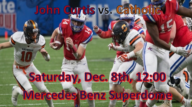 Listen to the STATE CHAMPIONSHIP game LIVE Saturday at 11:45**Audio Only