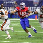 Patriot football team ranked in several national polls