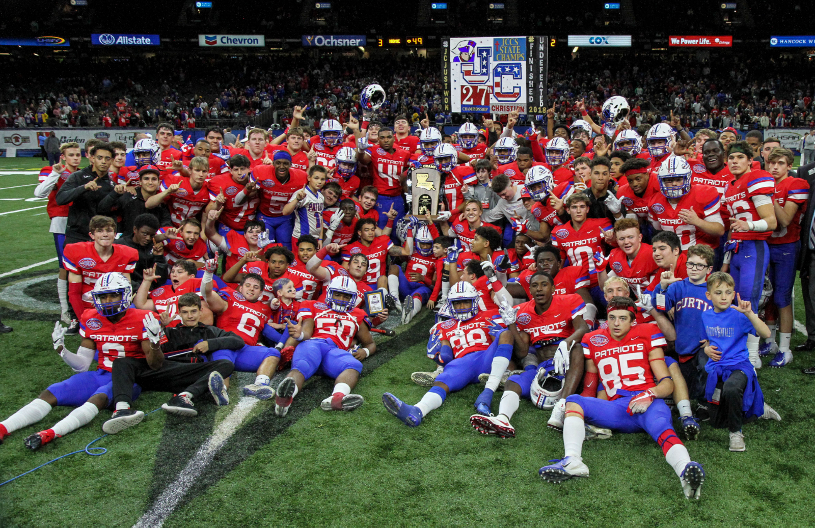 Patriots ranked best athletic department in NOLA Metro area by MaxPreps