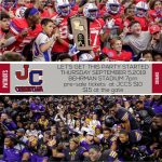 John Curtis vs. Karr…does a season opener get any better than this?!?!