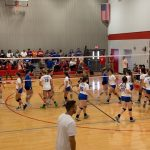 Tourney championship eludes Patriot volleyball team