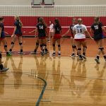 Volleyball team enters back half of schedule playing well