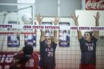 Volleyball team continues it's hot streak; sweeps Dunham 3-0.