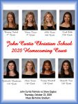 Meet our 2020 Homecoming Court!