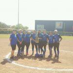 Vela High School Junior Varsity Softball Dark beat Pharr-San Juan-Alamo North High School 15-7