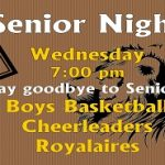 Boys Basketball – Senior Night