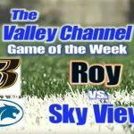 Roy vs Sky View Football Video