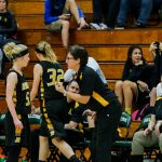 Roy High School Girls Varsity Basketball falls to Weber High School 46-30