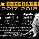 Royal Cheerleader Tryouts
