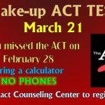 Make-up ACT Test