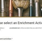 Sign up for Enrichment