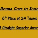 State Drama Results