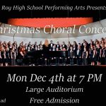 Roy High Choir Concert