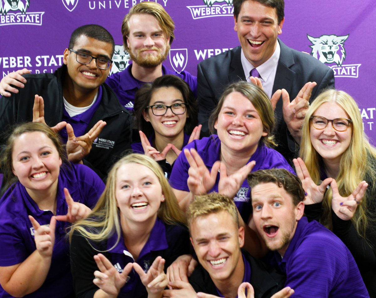 Weber State Ambassador Application Due