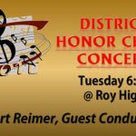 District Honor Choir TONIGHT