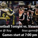 Basketball Game Tonight @ 7