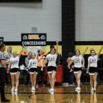 Cheerleaders @ Boys Basketball 2*16*18