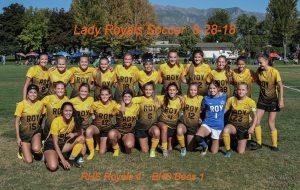 8-28-18 Girls Soccer vs Box Elder