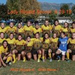 8-28-18 Girls Soccer vs Box Elder