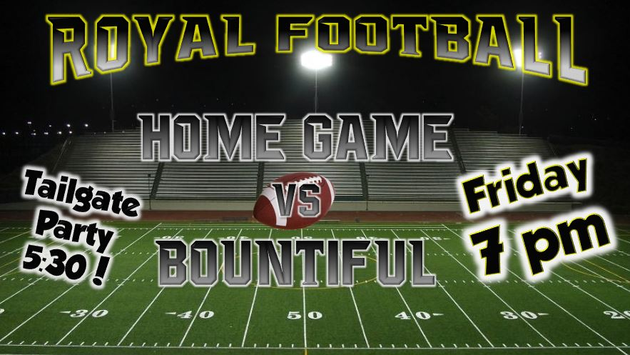 Homecoming Game Friday!