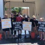 9-15-18 Girls Tennis Car Wash Fundraiser