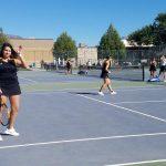 9-20-18 Girls Tennis vs Farmington