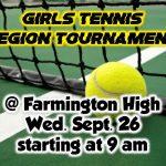 Girls Tennis Region Tournament