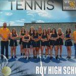 2018-2019 Girls Tennis Team