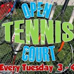 Tennis Open Court Tuesdays 3-4