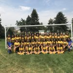 2018-2019 Girls Soccer Team with Roster
