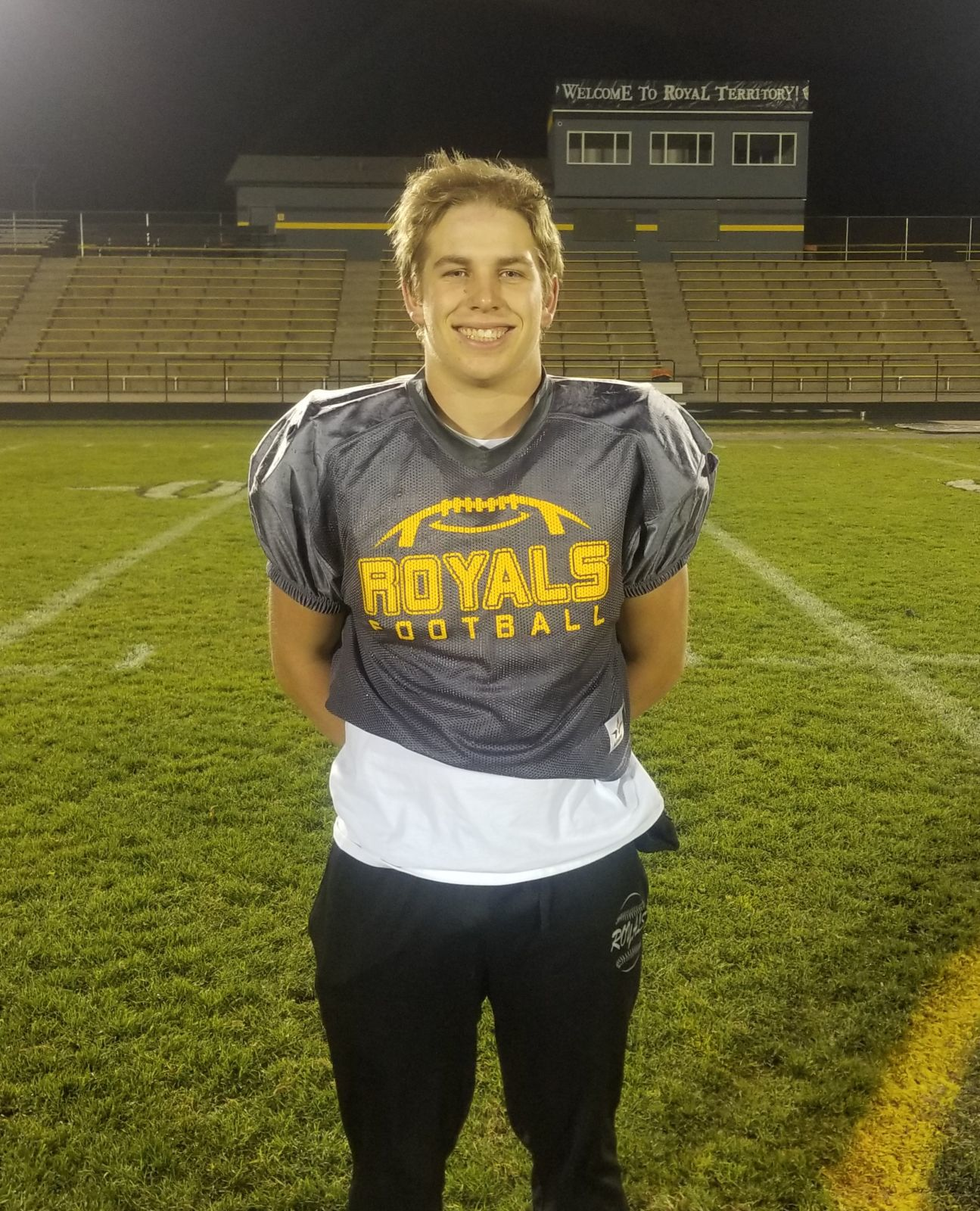 Levi Conley named Football Standard Star of the Week!