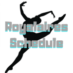 2018-2019 Royalaires Drill Team Schedule