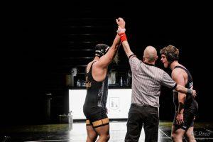 1-3-19 Wrestling vs Box Elder