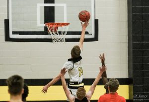 1-4-19 Boys Basketball vs East