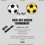 2019  Royals 3 vs 3 Soccer Tournament