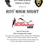Roy High Night at Utah Running Shop